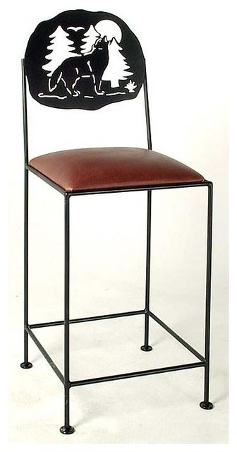 Silhouette Counter Stool Contemporary Bar Stools And