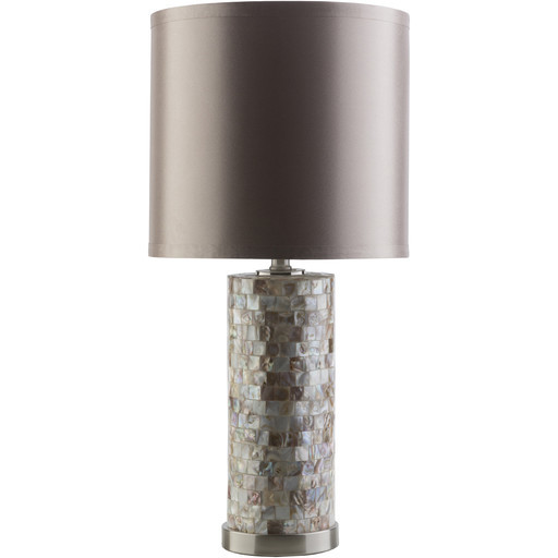 coplin mother of pearl look table lamp contemporary table lamps. Black Bedroom Furniture Sets. Home Design Ideas