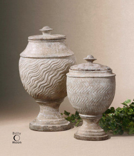 19295 Vases Urns Finials Accessories By Uttermost Modern Home Accessories