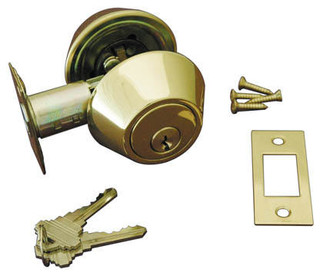 Low Profile Deadbolt Lock Traditional Door Hardware By Signature Hardware