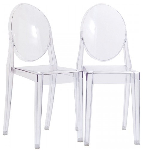 Modway EEI 906 CLR Casper Dining Chairs Set of 2 In Clear  : modern dining chairs from www.houzz.com.au size 478 x 510 jpeg 25kB