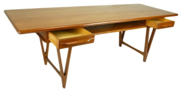 Danish Teak Coffee Table E W Bach Midcentury Coffee Tables Atlanta By Retropassion21