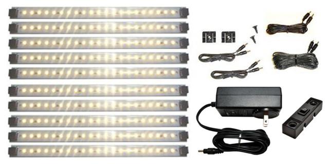 LED Under Cabinet Lighting Kit Pro Series 21 LED Super Deluxe Kit ...