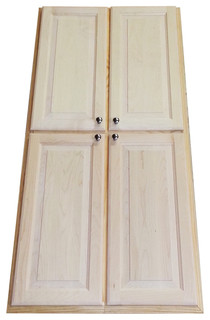 Recessed 60 Inch Dual Mount Pantry Storage Cabinet Contemporary Pantry And Cabinet