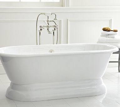 Porcelain Freestanding Pedestal Bathtub Amp Fittings