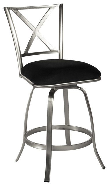 back swivel counter stool contemporary bar stools and counter stools