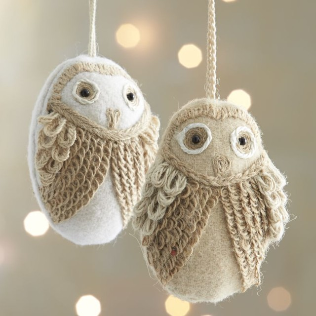 Owl Christmas Ornament Part - 26: Christmas Lights Card And Decore