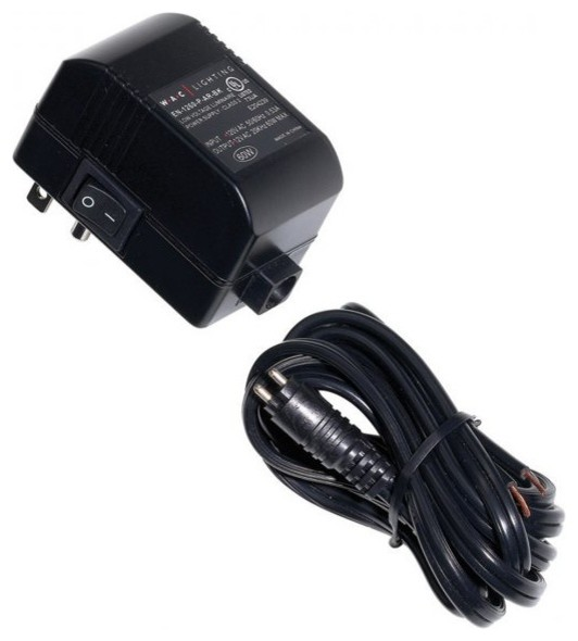 ... 12V Output 60 Watt in Black - Undercabinet Lighting - by WAC Lighting