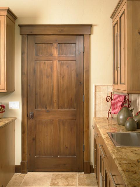 Rustic Craftsman - Traditional - Interior Doors - Denver ...