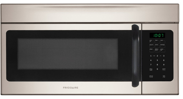 Over-The-Range Microwave, Silver Mist - Contemporary ...