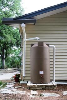 150 Gallon Rainwater Collection Tank Traditional