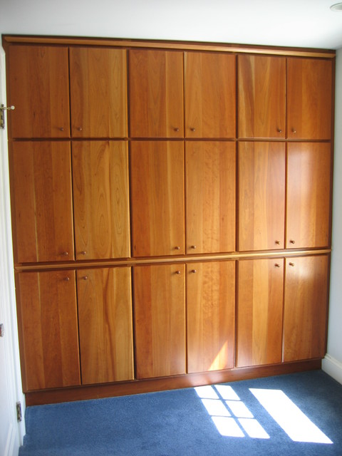 Atlanta Closet - Cherry Built-In - Craftsman - atlanta - by Atlanta Closet & Storage Solutions