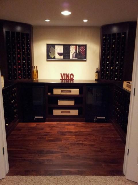 Small basement wine cellar for Small basement wine cellar