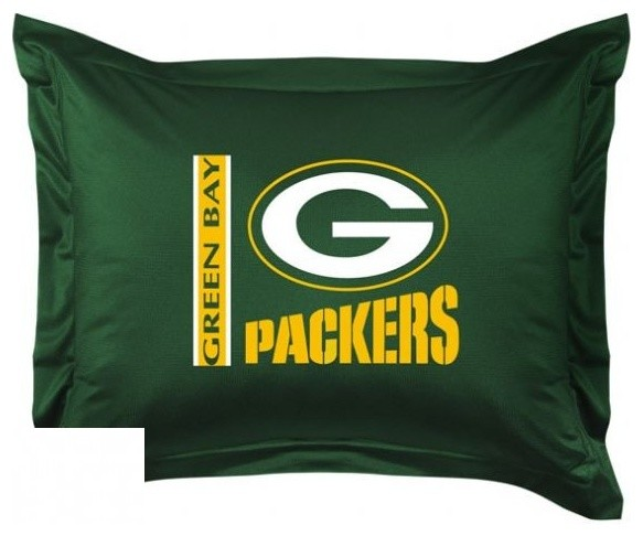 Green Bay Packers Sham Game Room And Bar Decor By Sportskids Llc