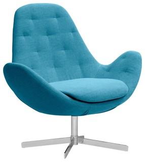 loungesessel houston ii t rkis niedrig modern. Black Bedroom Furniture Sets. Home Design Ideas