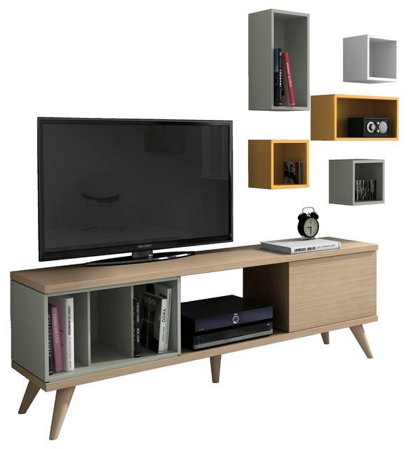 ... / Rangement Bureau / Solutions Média / Mur TV et Meuble TV