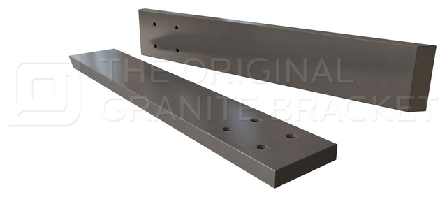 Countertop support bracket for knee wall or pony wall for Knee wall support