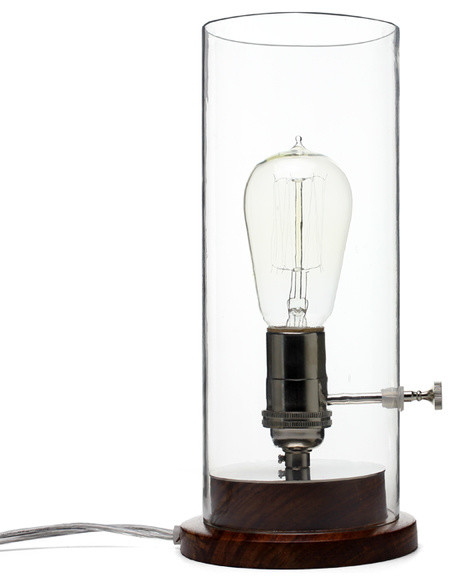 edison lamp traditional table lamps by old faithful shop. Black Bedroom Furniture Sets. Home Design Ideas