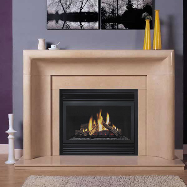 Contemporary Marble Fireplace The Image