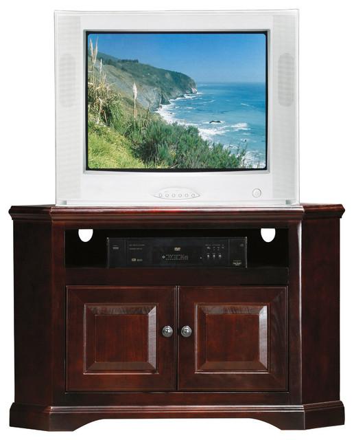 "Eagle Furniture 41"" Savannah Corner Entertainment Console, Autumn Sage ..."