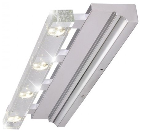 Contemporary Led Vanity Lights : Adjustable Modern Led Bathroom 4 Lights Vanity Light Wall Lamp - Contemporary - Bathroom Wall ...