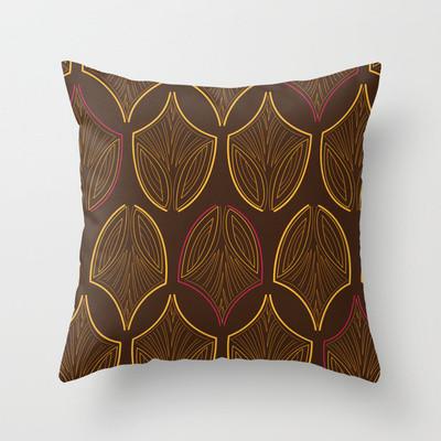 Bohemian Throw Pillow - Modern - Decorative Pillows - toronto - by Paula Lukey Design