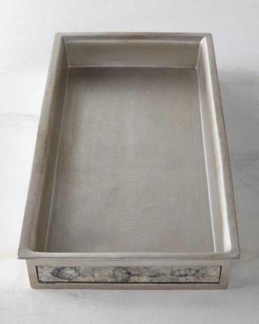 Palazzo vintage tray contemporary bathroom accessories for Bathroom accessories tray