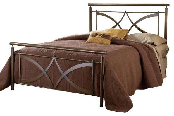 Hillsdale Marquette Metal Bed In Brushed Copper Traditional Beds By Beyond Stores