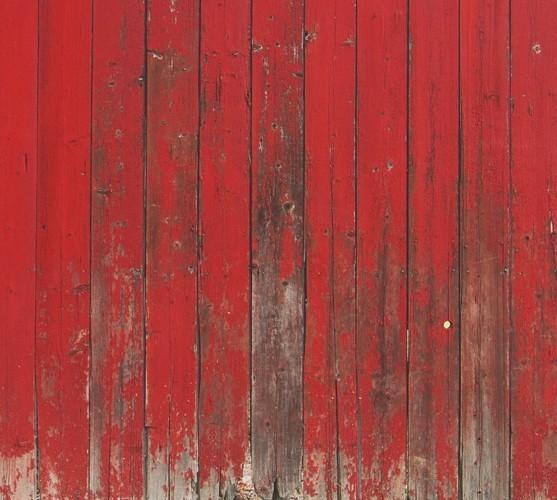 Red Barn Mural Wallpaper M9220 - Contemporary - Wallpaper - by Walls Republic