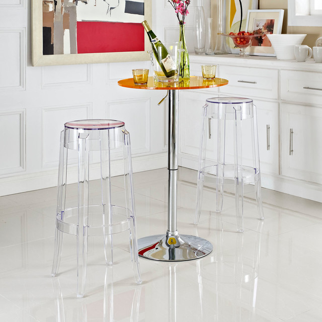 Casper Bar Stool Set of 2 EEI 1264 Clear : contemporary bar stools and counter stools from www.houzz.com.au size 640 x 640 jpeg 90kB