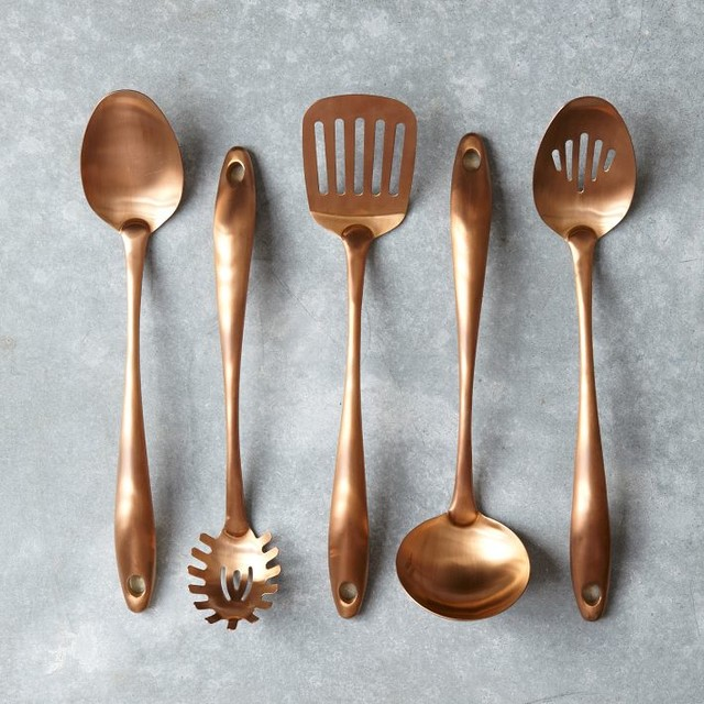 Copper Cooks Tools Contemporary Cooking Utensils By