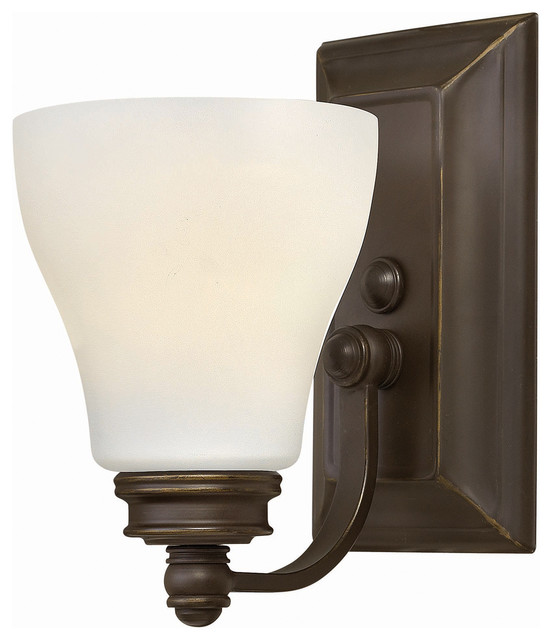 Bathroom single light fixtures cool brown bathroom for Traditional bathroom vanity lights