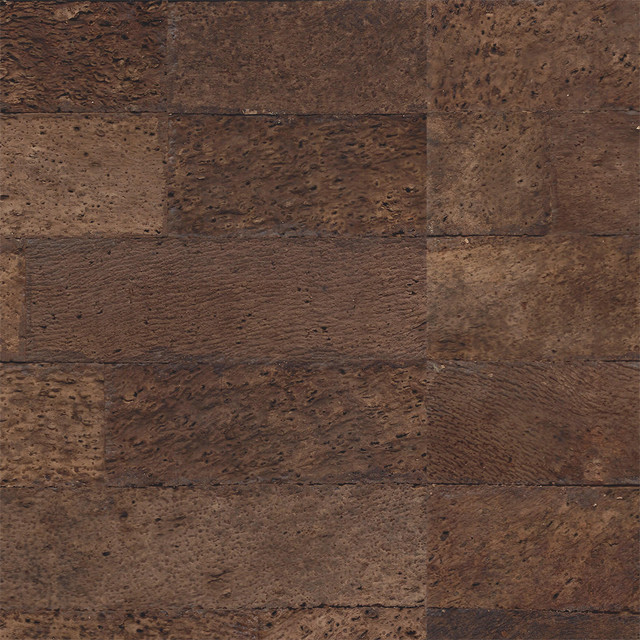 Rustic brick cork wall tile bulletin boards and for Cork flooring on walls