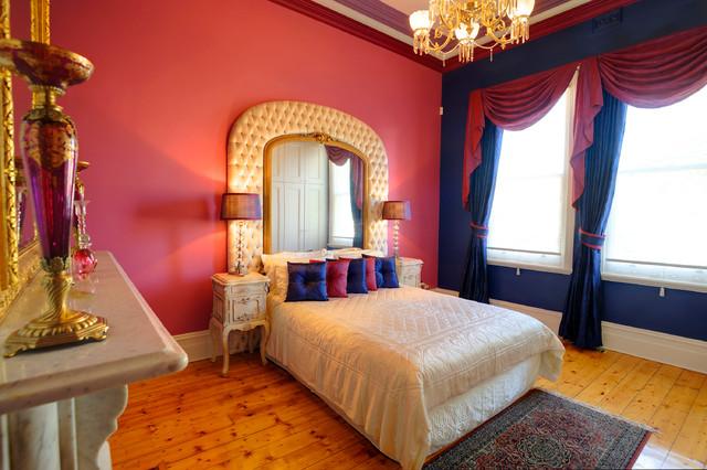 Opulent traditional inspired master bedroom for Opulent bedrooms