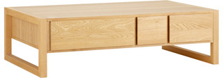 Hana table basse en ch ne modern coffee tables by habitat officiel - Table basse chene huile ...