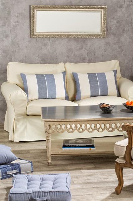 living room decor with ikea ektorp sofa cover