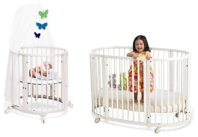 stokke sleepi system mini sleepi crib white modern cribs by diapers. Black Bedroom Furniture Sets. Home Design Ideas