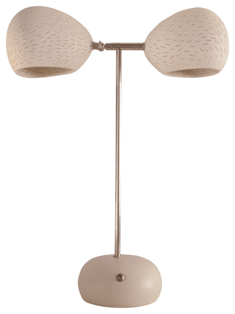 table lamp with touch dimmer clay light model t contemporary table. Black Bedroom Furniture Sets. Home Design Ideas