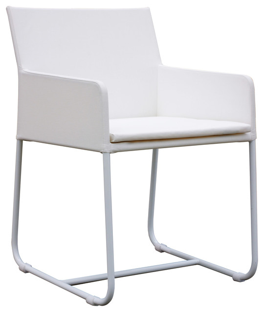 Zudu Dining Chair Modern Outdoor Dining Chairs los angeles by Viesso