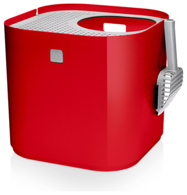 Modkat litter box modern litter boxes and covers by a r - Modern kitty litter box ...