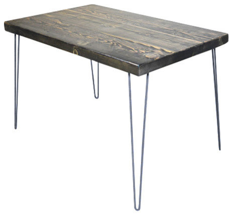 dining table and industrial hair pin legs industrial dining tables