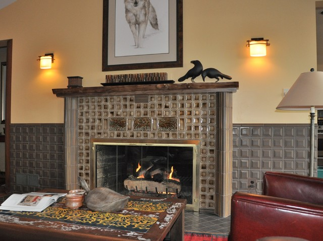 Fireplace Craftsman Other By Status Ceramics