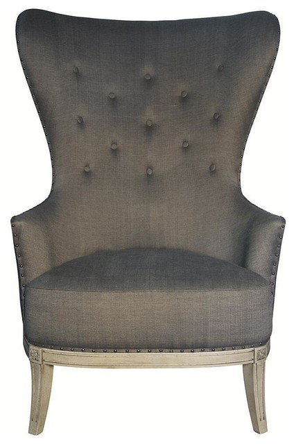 Noir Aaron Chair Traditional Furniture by Candelabra
