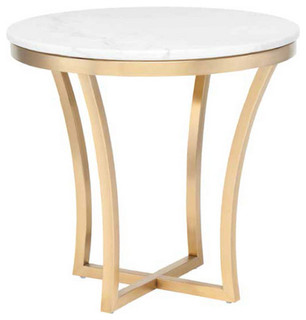 Nuevo Aurora Accent Table - Contemporary - Side Tables And End Tables ...