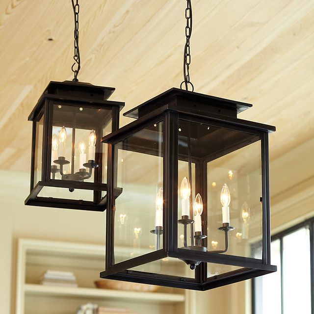 Calisse 4 Light Lantern Traditional Pendant Lighting