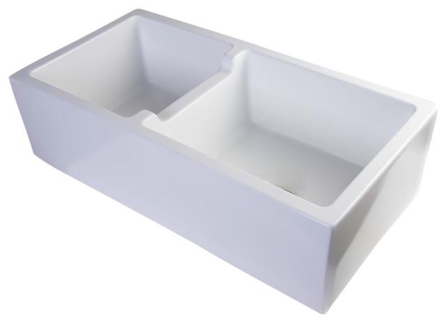 36 White Farmhouse Sink : 36