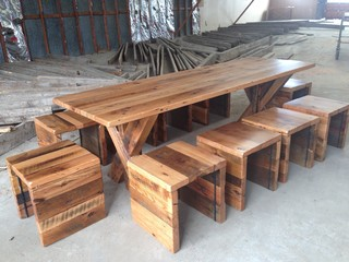 Reclaimed Furniture Rustic Dining Tables Denver By The Chairman