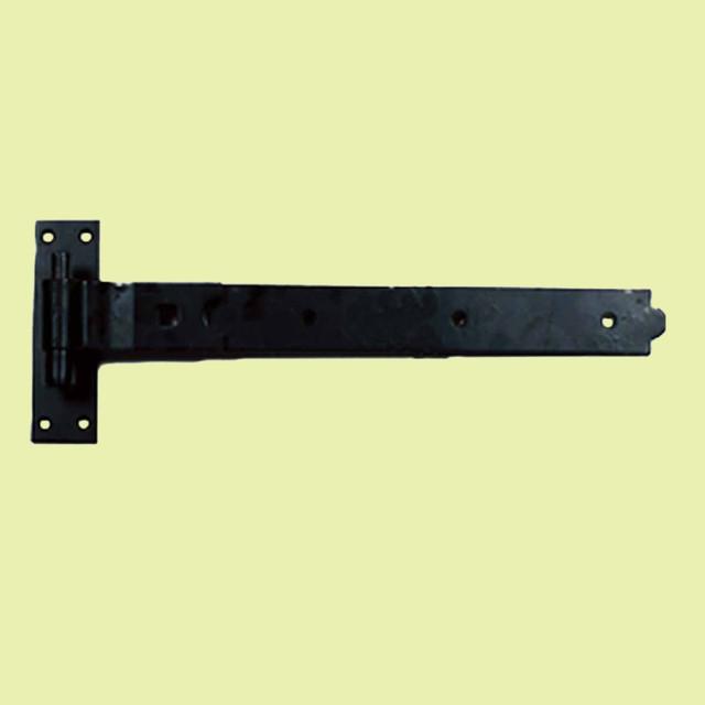 Door Hinges Black Wrought Iron Pintle Door Hinge 10'' | 15565 rustic-hinges