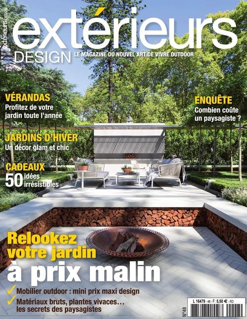 parution dans le magazine ext rieur design n 48 reportages pour l 39 agence de paysagisme. Black Bedroom Furniture Sets. Home Design Ideas