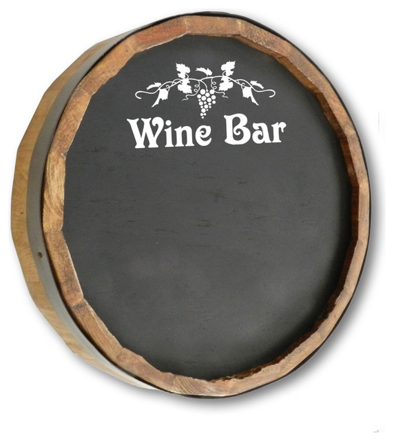 1000 Oaks Barrel Co. Wine Bar Sign - Beach Style - Bulletin Boards And Chalkboards - by Thousand ...